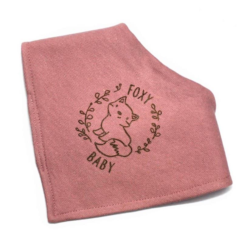 3f1798e6ad5ad Baby Girls Waterproof Bib Foxy Baby Pink/Gold