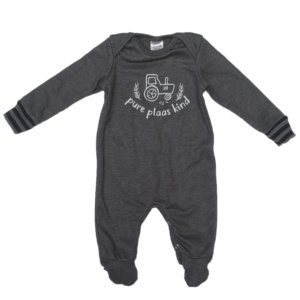 just-chillin-baby-boys-girls-unisex-babygrow-charcoal-white-plaas-south-africa