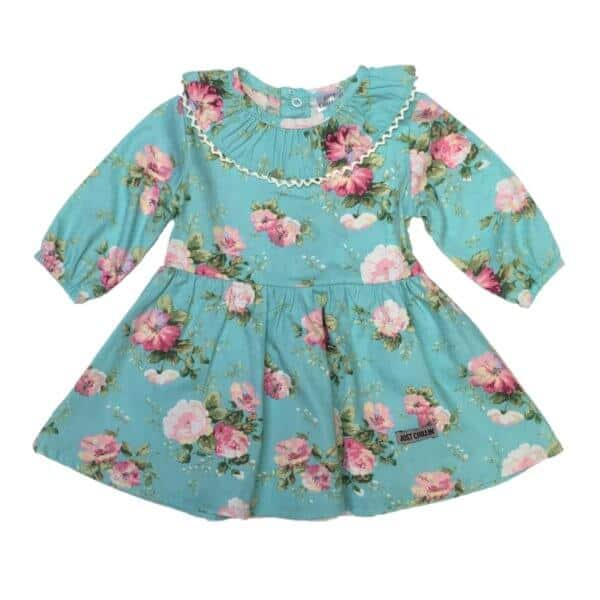 just-chillin-baby-girls-clothes-south-africa-dress-collar-turquoise-flower