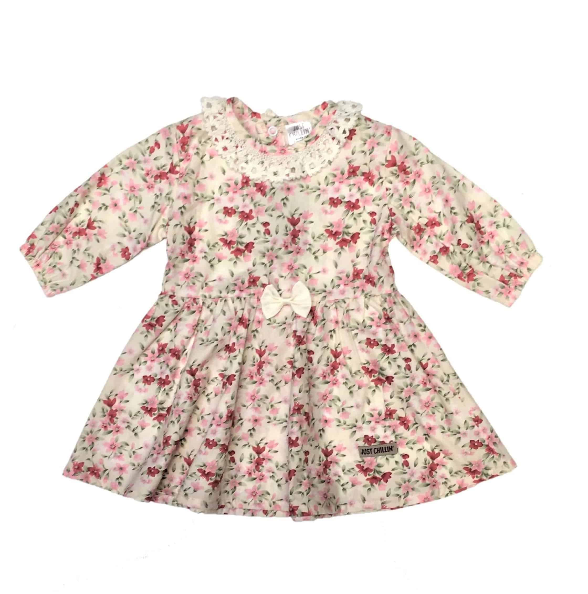 c75fbcc8c3798 Baby Girls Dress - Yellow Floral