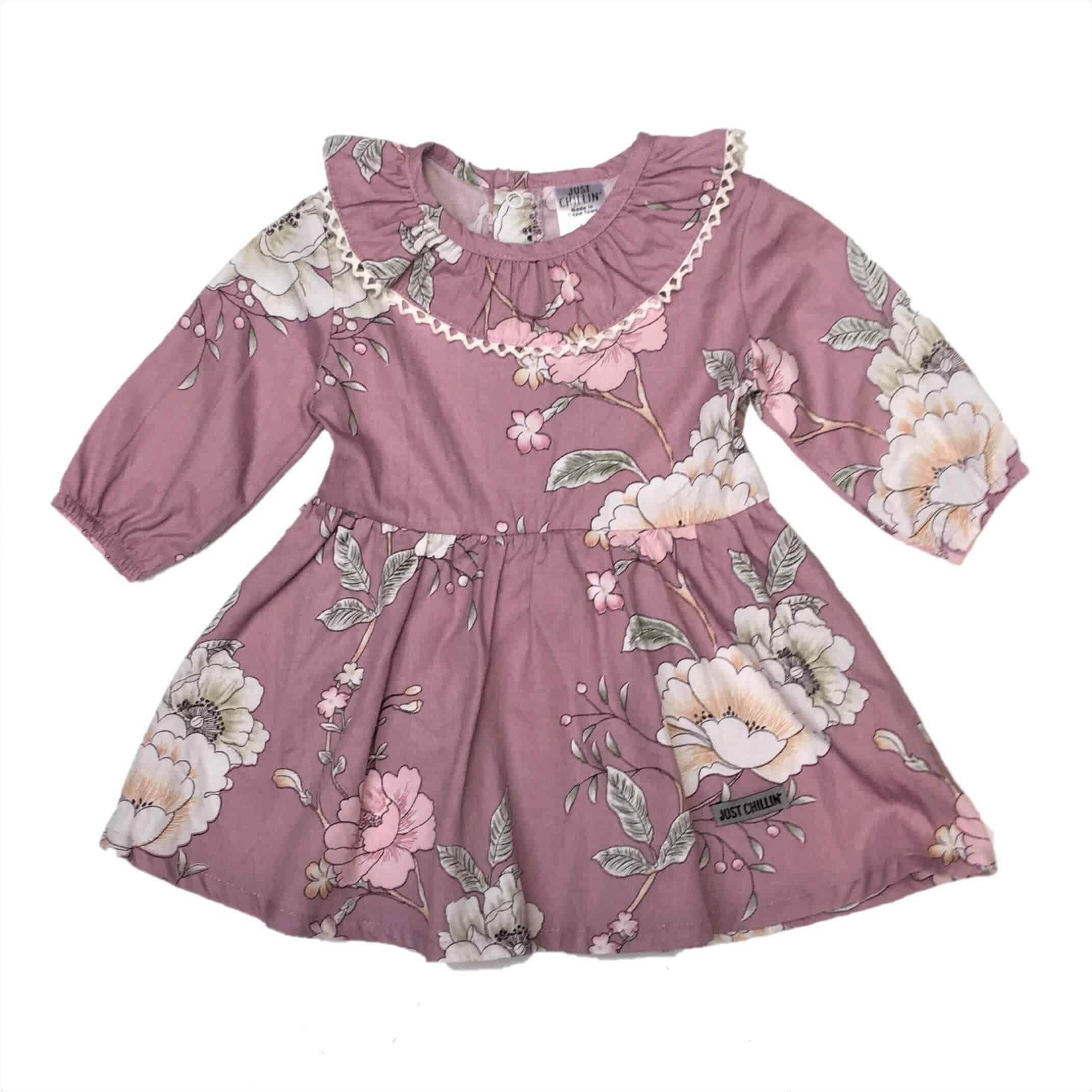 43ec19642 Baby Girls Dress- Pink Floral