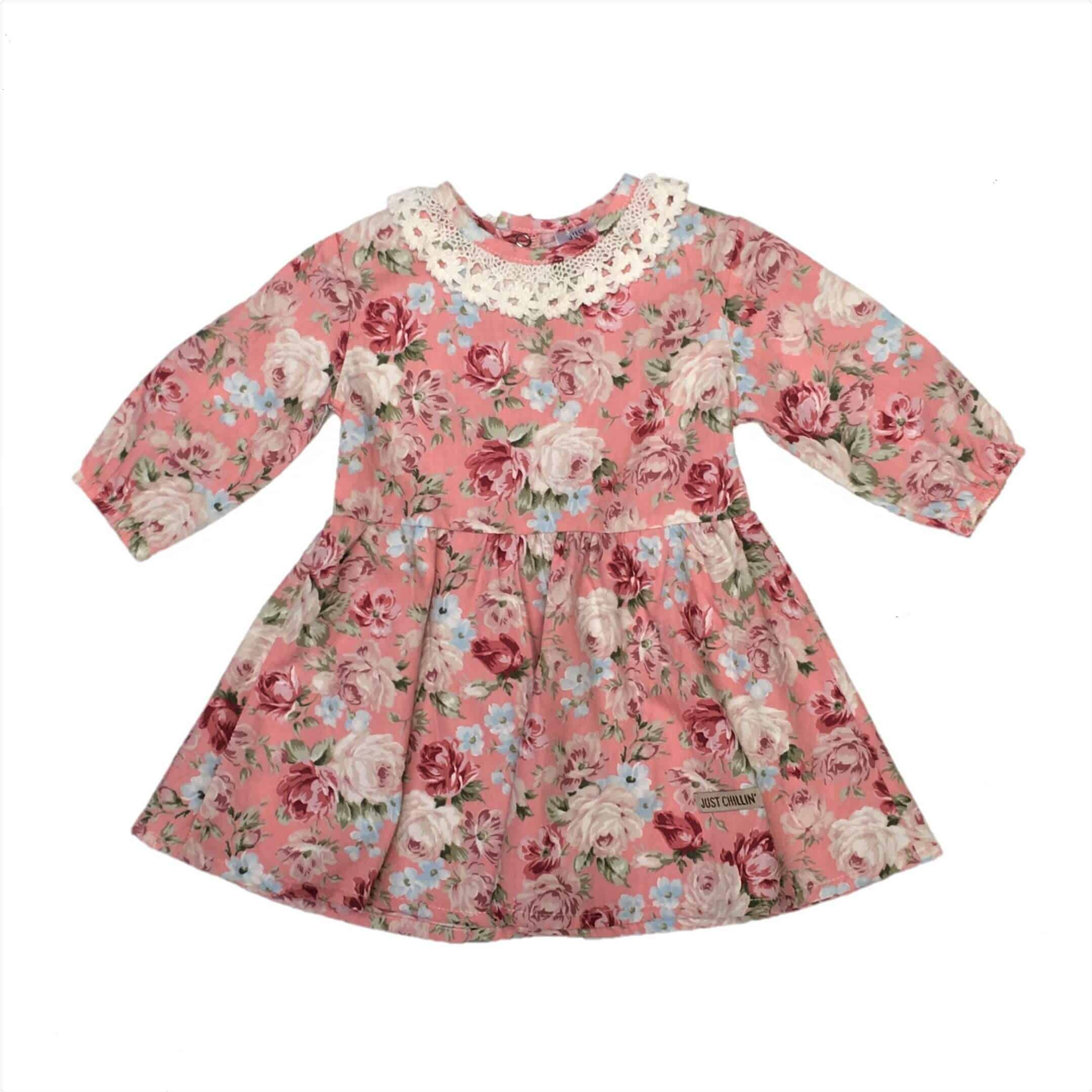 6e96df9508fef Girls Dress Peach - Just Chillin Baby Clothes Online South Africa