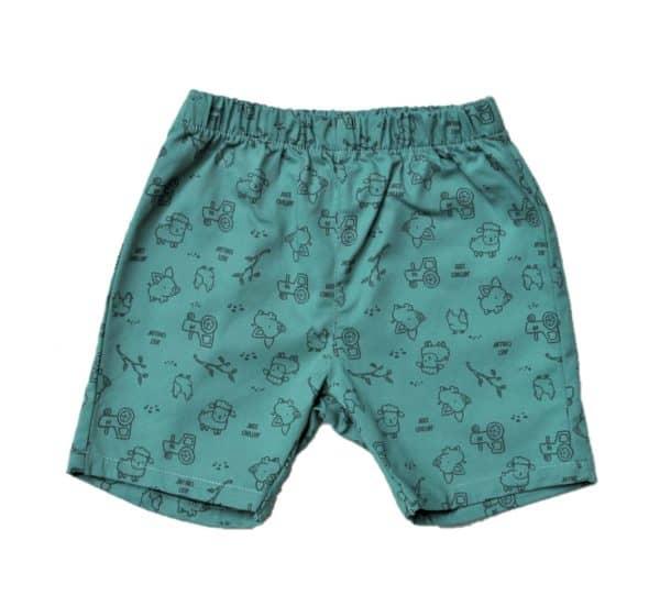 just-chillin-shorts-aqua-farm-animals
